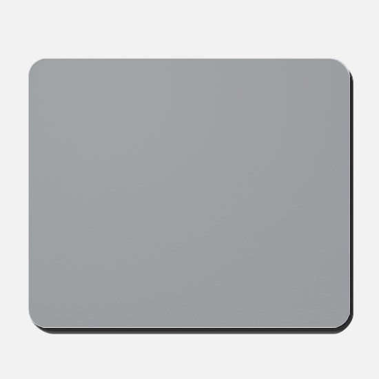Light Gray Solid Color Mousepad