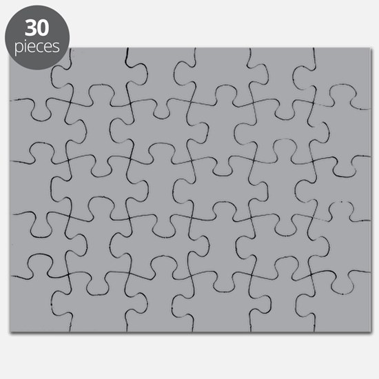 Light Gray Solid Color Puzzle