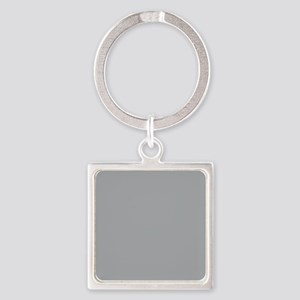 Light Gray Solid Color Keychains
