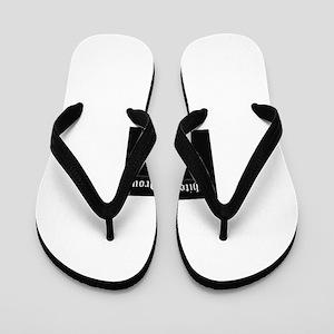 WHITE & PROUD Flip Flops