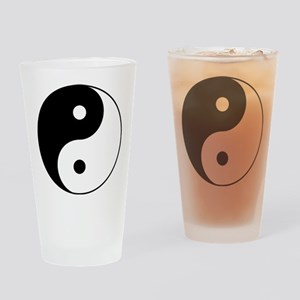 Classic YinYang Drinking Glass
