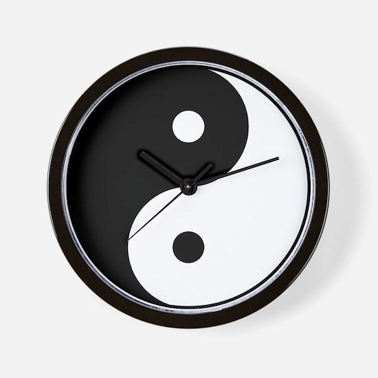 Classic YinYang Wall Clock