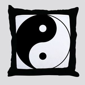 Classic YinYang Throw Pillow