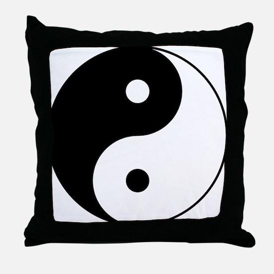 Classic YinYang Throw Pillow