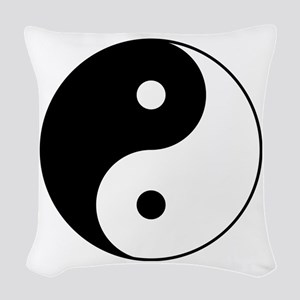 Classic YinYang Woven Throw Pillow