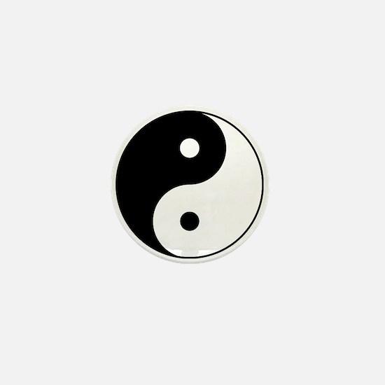Classic YinYang Mini Button
