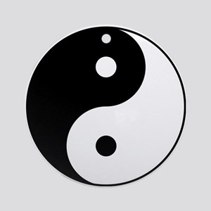 Classic YinYang Ornament (Round)