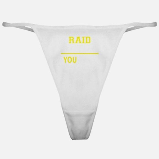 Unique Raid Classic Thong