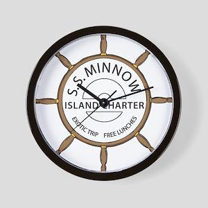 SS Minnow Wall Clock
