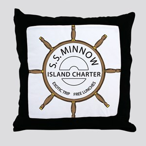 SS Minnow Throw Pillow