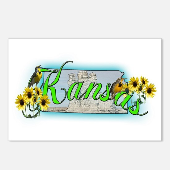 Kansas Postcards (Package of 8)