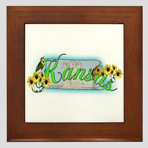 Kansas Framed Tile