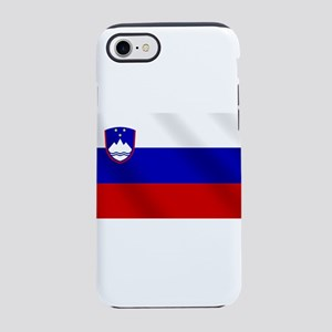 Flag of Slovenia iPhone 7 Tough Case