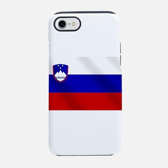 Flag of Slovenia iPhone 7 Tough Case