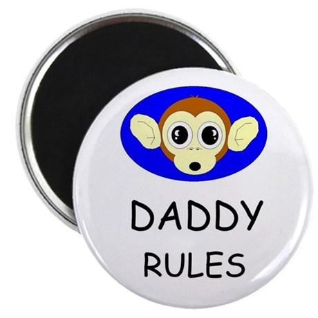 "DADDY RULES 2.25"" Magnet (10 pack)"