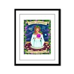 Lady Aquarius Framed Panel Print