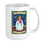 Lady Aquarius Large Mug
