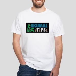 Akumal Tips White T-Shirt