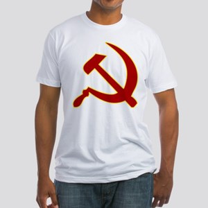 Hammer and Sickle Fitted T-Shirt