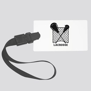 Lacrosse by Other Sports & Stuff Large Luggage Tag