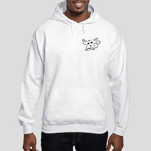Line Pup Hooded Sweatshirt