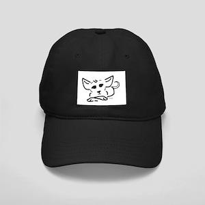 Line Pup Black Cap