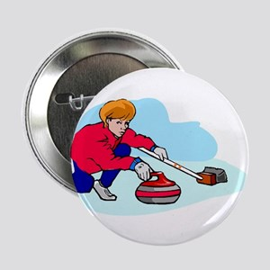 """Lady curler"" Button"