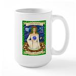 Lady Virgo Large Mug
