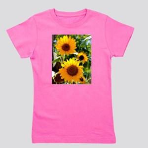 Sunflowers Old Town Albuquerque Girl's Tee