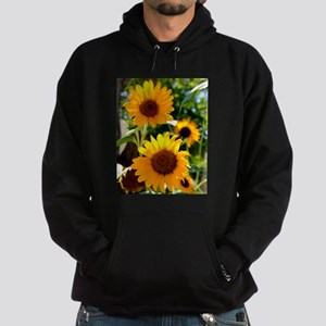 Sunflowers Old Town Albuquerque Hoodie