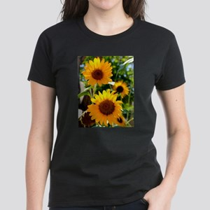 Sunflowers Old Town Albuquerque T-Shirt