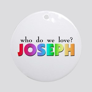 Technicolor Dreamcoat Ornament (Round)