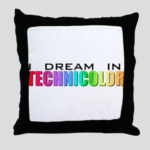 Technicolor Dreamcoat Throw Pillow