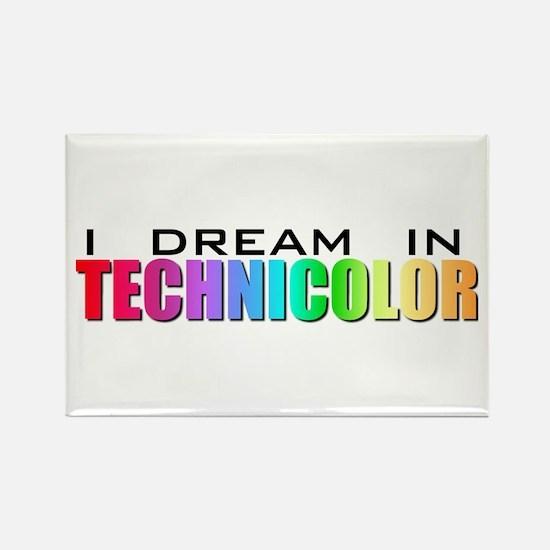 Technicolor Dreamcoat Rectangle Magnet