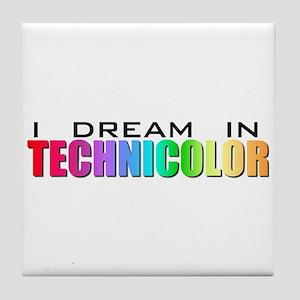 Technicolor Dreamcoat Tile Coaster