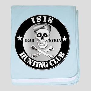 ISIS Hunting Club - Iraq - Syria baby blanket