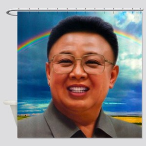 North Korea Is Best Korea Shower Curtain