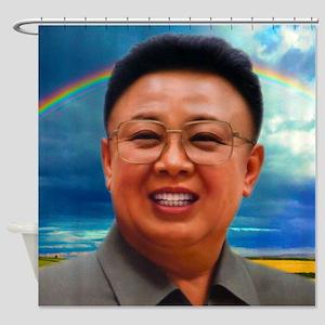 North Korea Is Best Shower Curtain