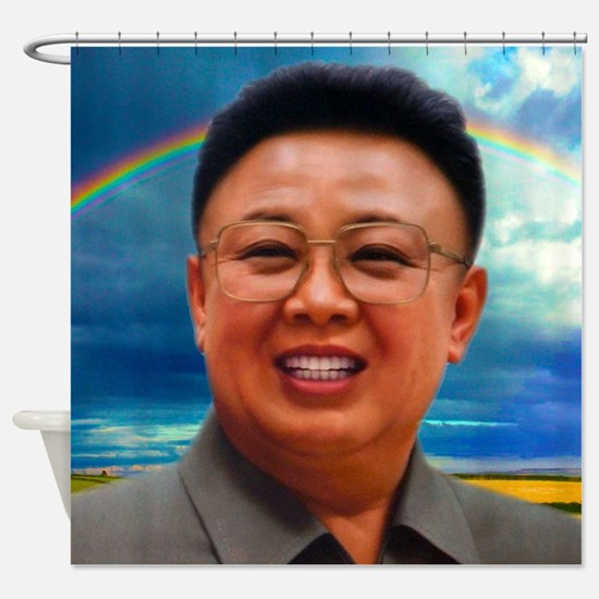 North Korea Is Best Shower Curtain