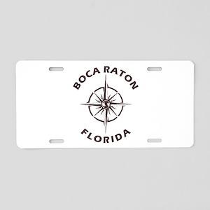 Florida - Boca Raton Aluminum License Plate