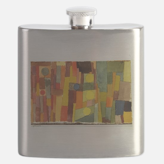 Paul Klee In The Style Of Kairouan Flask