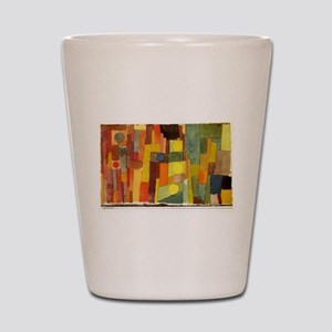 Paul Klee In The Style Of Kairouan Shot Glass