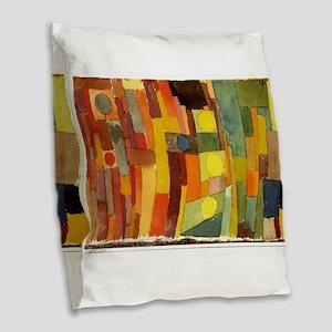 Paul Klee In The Style Of Kairouan Burlap Throw Pi