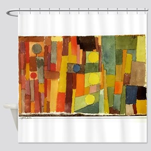 Paul Klee In The Style Of Kairouan Shower Curtain