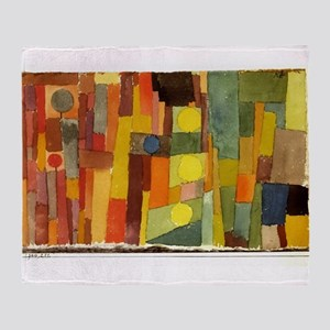 Paul Klee In The Style Of Kairouan Throw Blanket