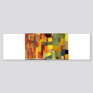 Paul Klee In The Style Of Kairouan Bumper Sticker