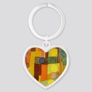 Paul Klee In The Style Of Kairouan Keychains