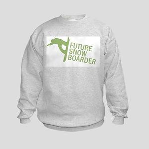 Future Snowboader Kids Sweatshirt
