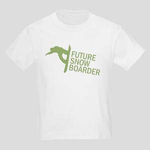 Future Snowboader Kids Light T-Shirt