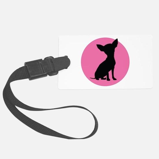 Polka Dot Chihuahua - Luggage Tag